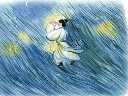 《成语故事大PK》水彩插画配图