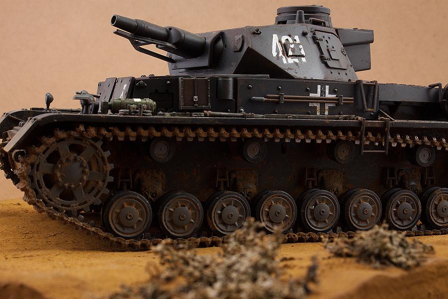 德国4号坦克_二战德国4号D型坦克|手工艺|手办/模玩|白用感叹号 - 原创作品 ...