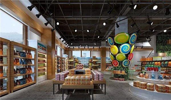 重庆超市装修设计效果图/便利店装修公司/超市预算报价图片