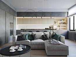 现代简约,多彩居住空间设计