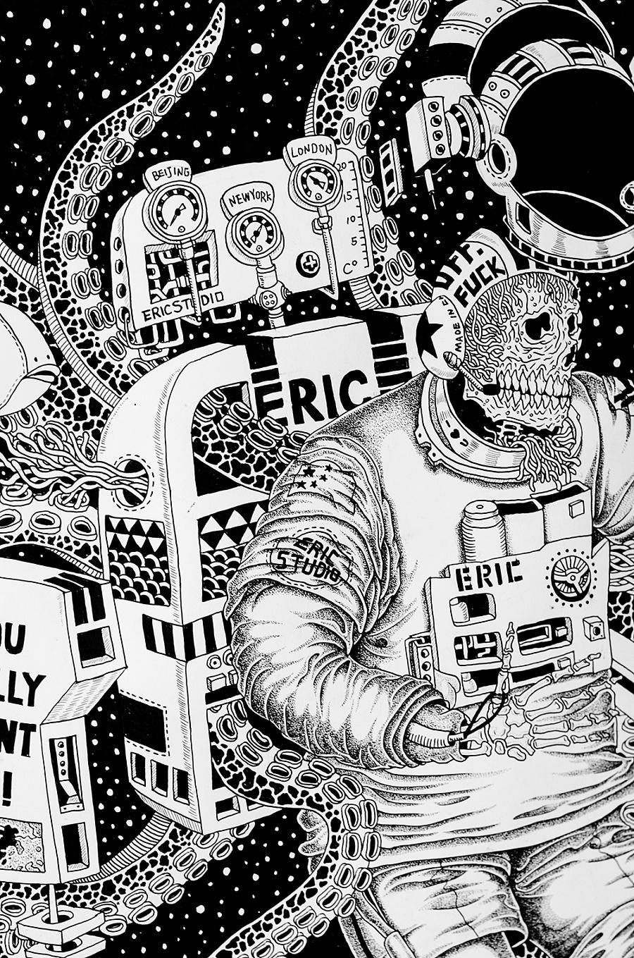 查看《《我们都会死很久》插画》原图,原图尺寸:1000x1510