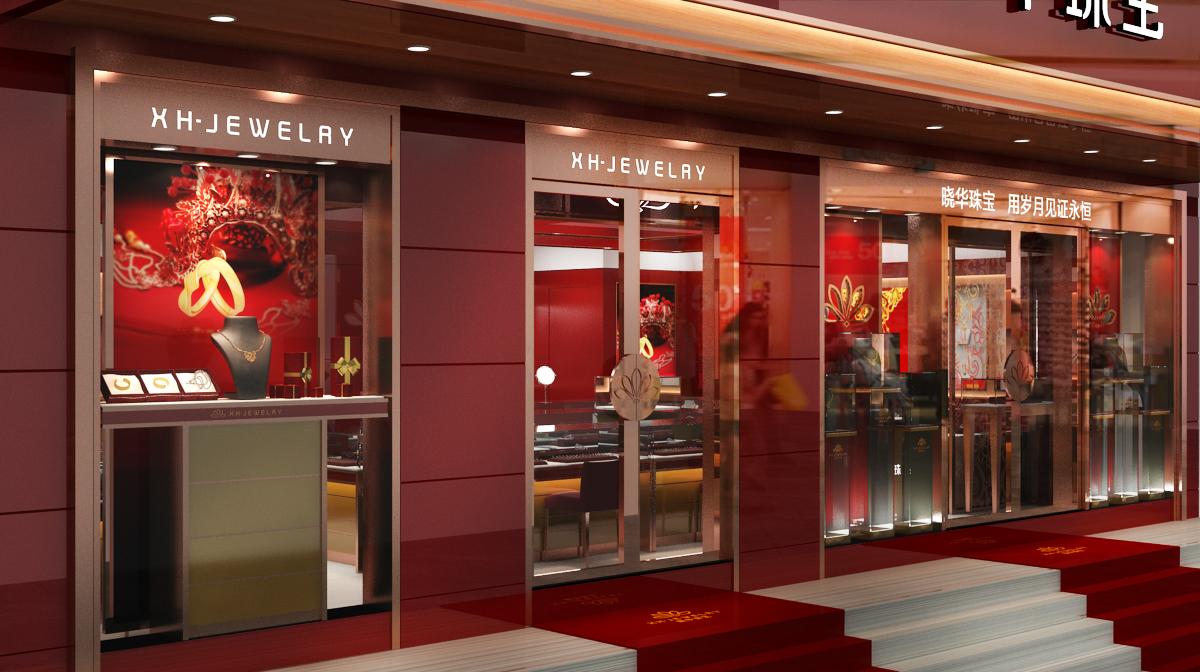 珠宝专卖店|空间|展示设计 |梵匠工作室 - 原创作品图片