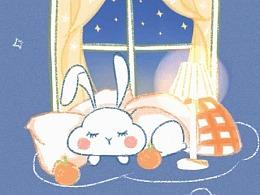 Cloud Rabbit-手机壁纸