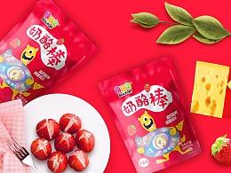 郑州本质|奶酪棒包装设计