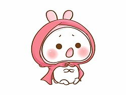 嘀嗒兔开启探险旅程-QQ表情