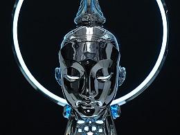 镜像未来——《未来仏 2.0》艺术与科技的共鸣!