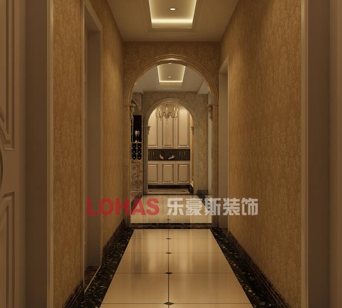 启锐园5号楼洋房g户型走廊欧式装修效果图