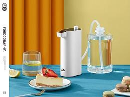 小家电摄影 | 索利斯即热式饮水机 ✖ foodography
