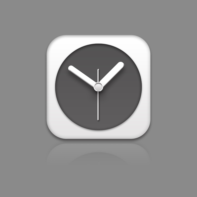 小小时钟图标 打发时间|ui|图标|huangjin123 - 原创图片