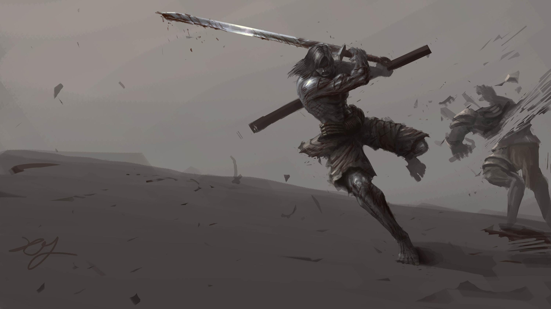 剑客|插画|插画习作|apm30几 - 原创作品 - 站酷图片