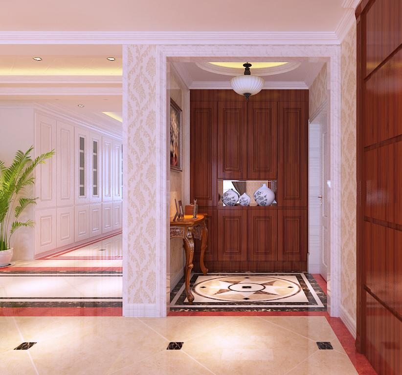 盛世御城户型欧式风格设计实景图|室内设计|空间