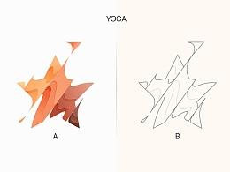 98个YOGA风图标练习(附全套AI源文件)