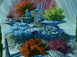 VR创作 虚拟现实-海底世界