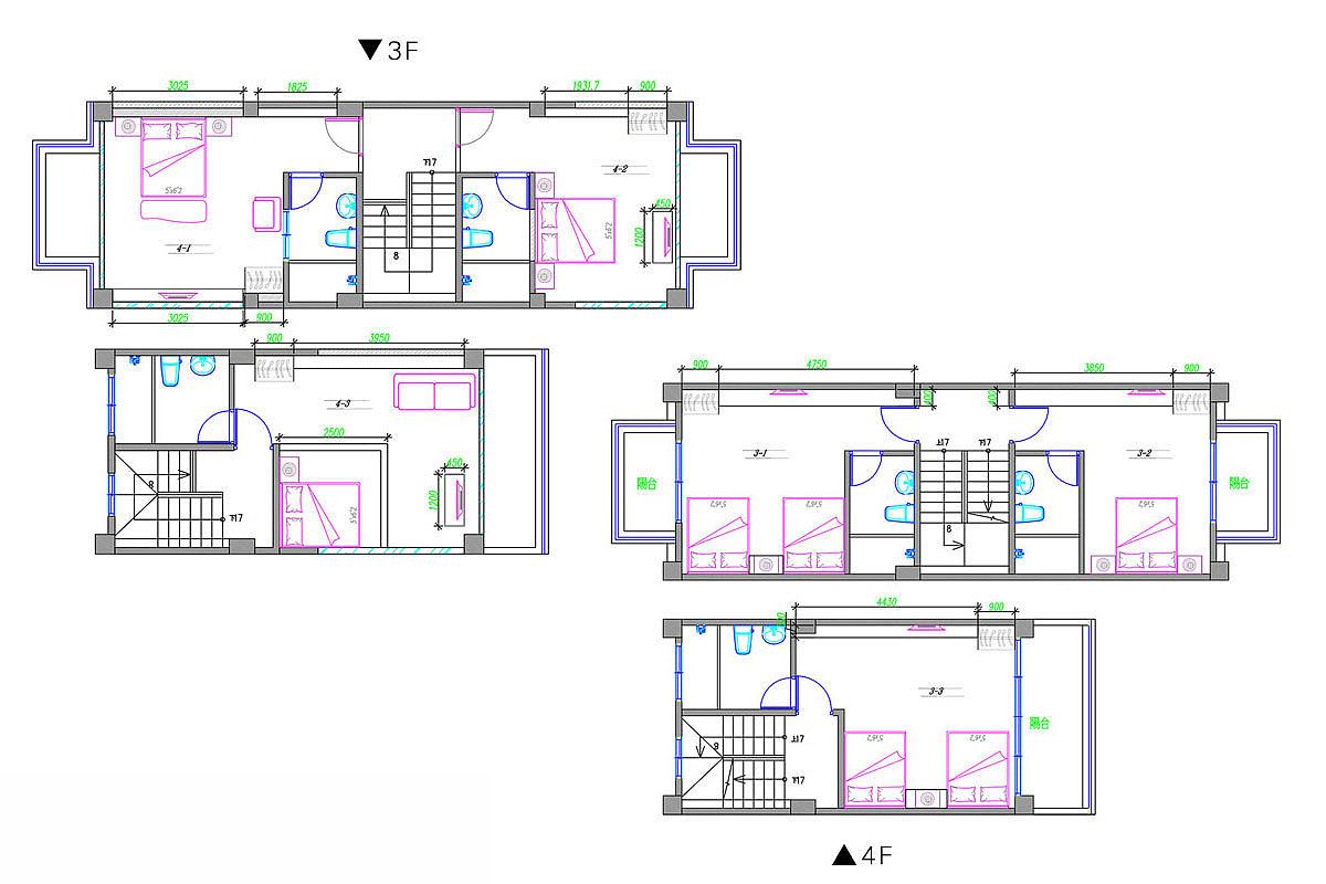 60平米房子设计平面图-60平米平面图小卧室榻榻米效果图大全 一起装