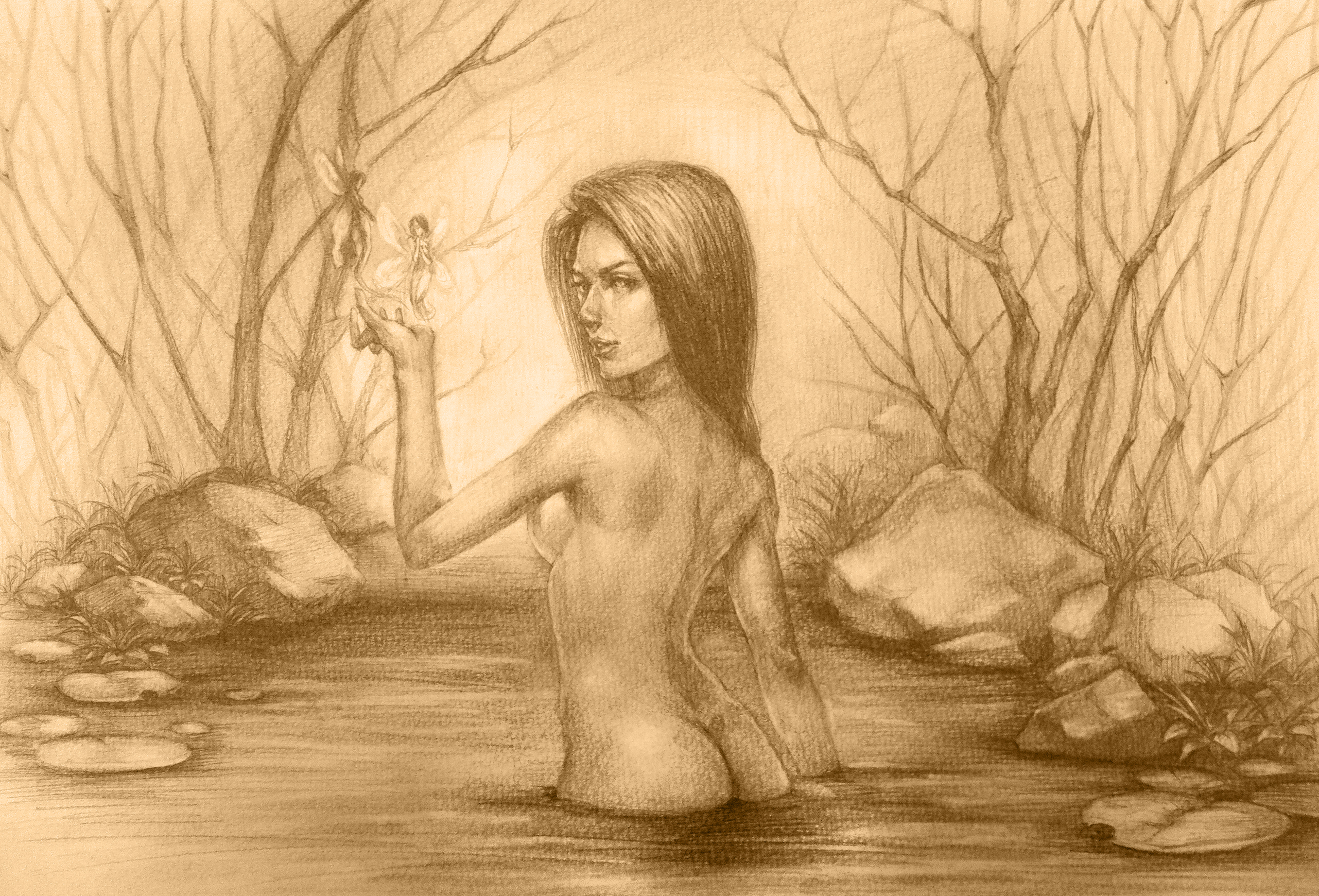 铅笔素描手绘