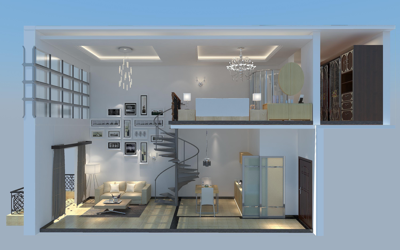 loft复式青年公寓(万达广场)图片