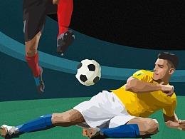 世界杯系列海报-金融 品宣
