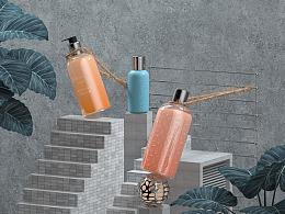 C4D 护肤品产品建模渲染
