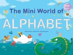 原创儿童绘本《The Mini World of Alphabet》部分插图