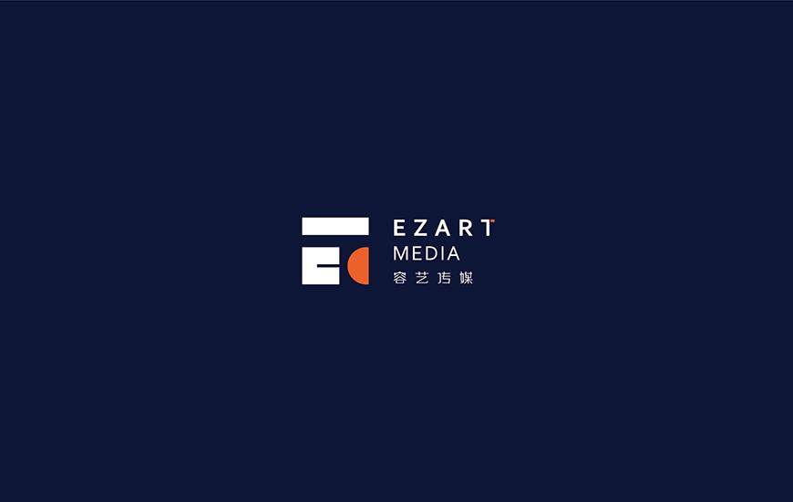 ezart media design||标志|平面|谷龙 - 原创设计图片