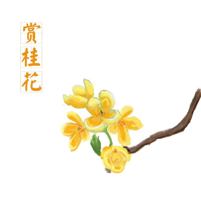 桂花卡通图片大全 _排行榜大全