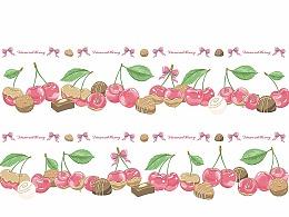 Lolita印花 钻石甜心 大樱桃