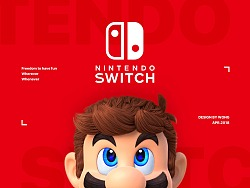 Nintendo Switch概念设计