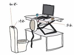改变人类的发明 超级座便办公桌