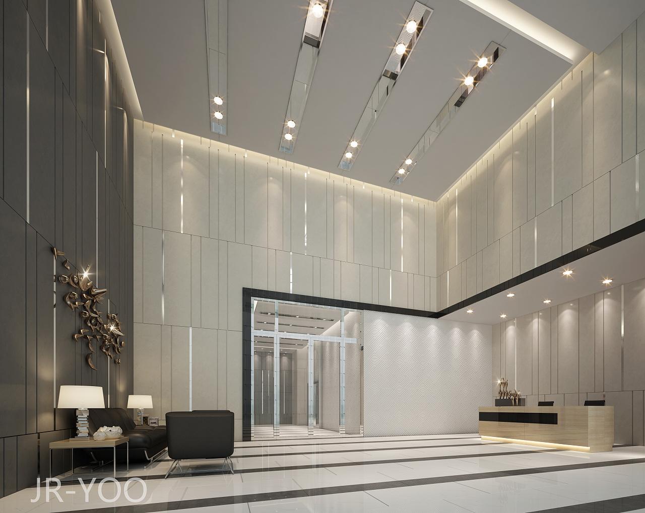 中国联通办公大楼室内设计方案|空间|室内设计|jryoo图片