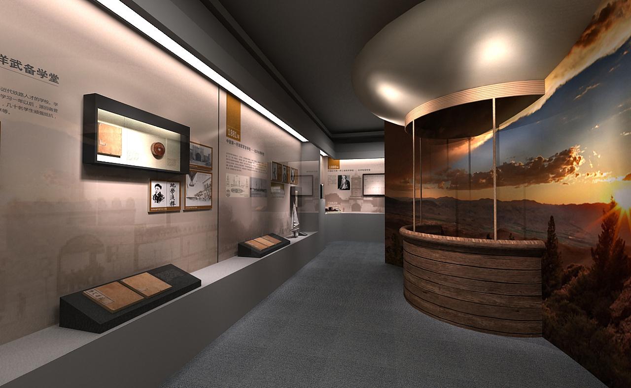 教育博物馆|空间|展示设计 |低音e - 原创作品 - 站酷图片