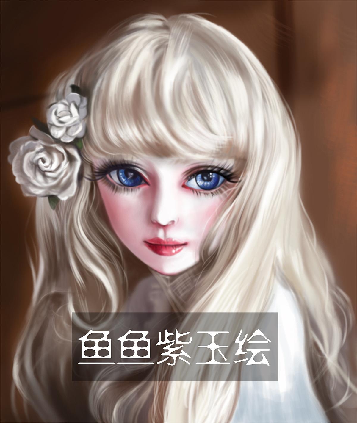 喜欢sd娃娃的大眼睛,很美.