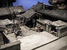 摄影 | 北京四合院精致模型:真正的工匠精神!