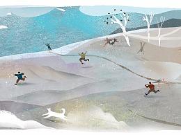 《十月少年文学》插画