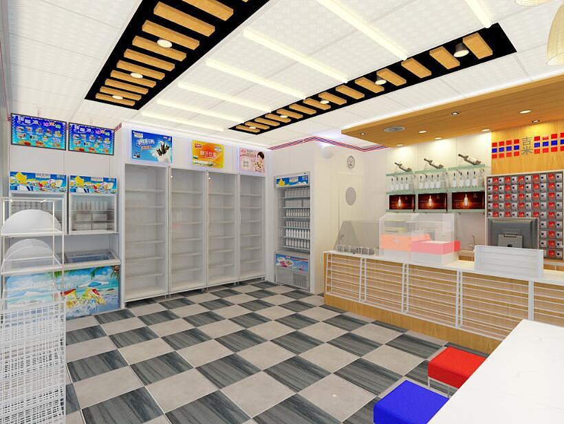 成都超市,便利店,商场装修设计 精美案例图片