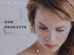 美容皮肤管理网页设计