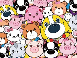 动物大联盟ANIMALUNION小清新壁纸系列三