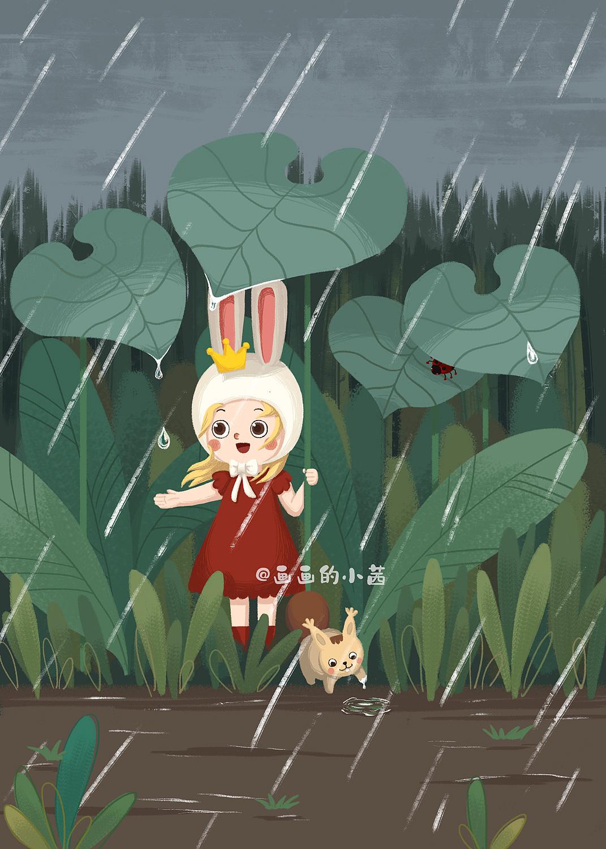 动漫兔子图片