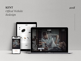 KENT Offical website  redesign(附字体)