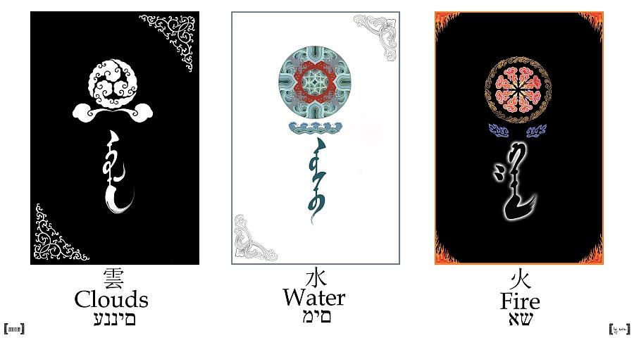 蒙古族特色的图案 应该不能算是海报 算是装饰画吧.图片