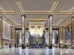 商业图、酒店大堂