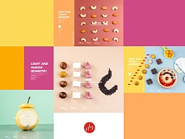 成都美食拍摄创意食物造型水果烤梨饮品拍摄美食摄影