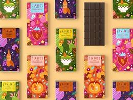 LA LUZ 巧克力品牌设计