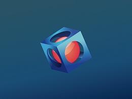 拟3D图标 - AI习作