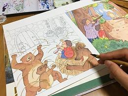 2018《儿童插画系列》