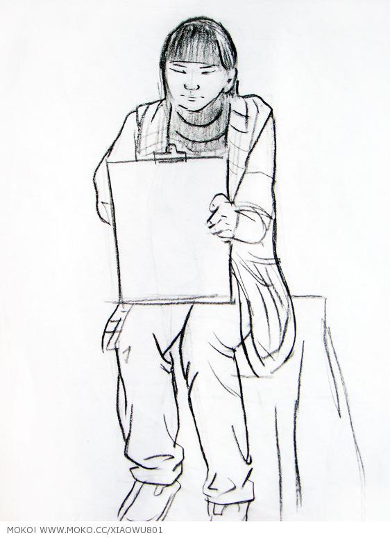 绘画|速写单个人物画法,速写的特点.【收藏版,干货多】图片