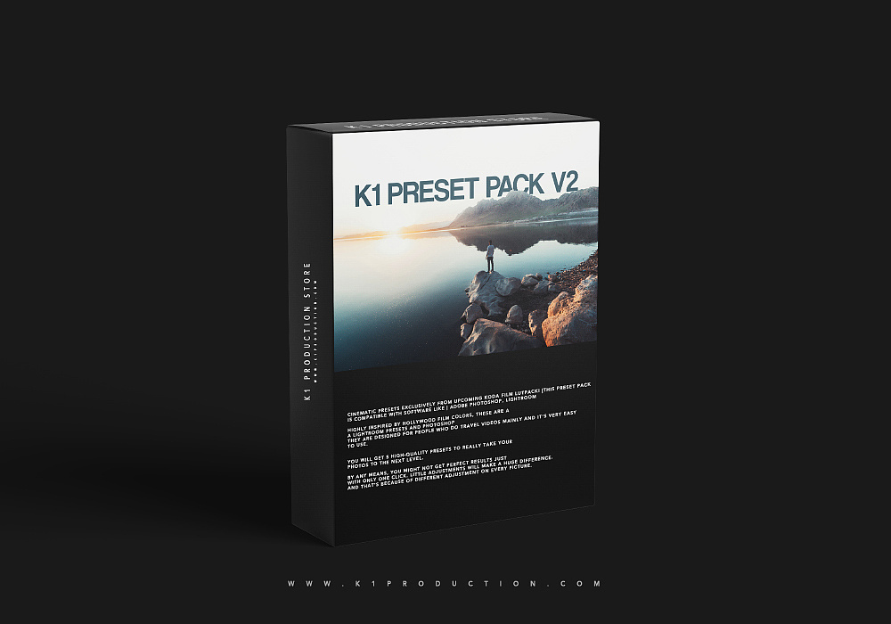 【P378】旅拍电影胶片预设K1 PRODUCTION K1 PRESET PACK V2