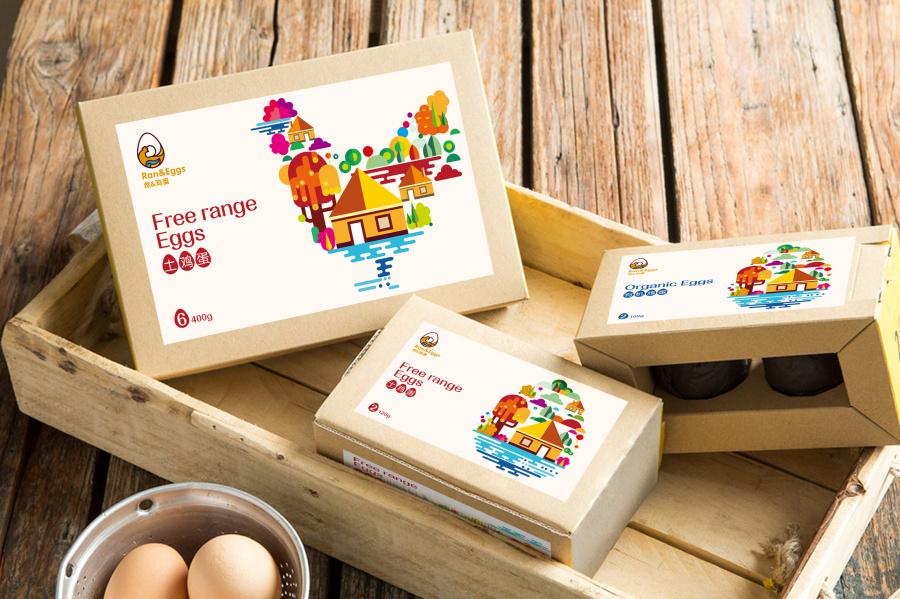 土鸡蛋包装_土鸡蛋包装设计[排沙设计] 包装 平面 排沙品牌设计 - 原创设计 ...