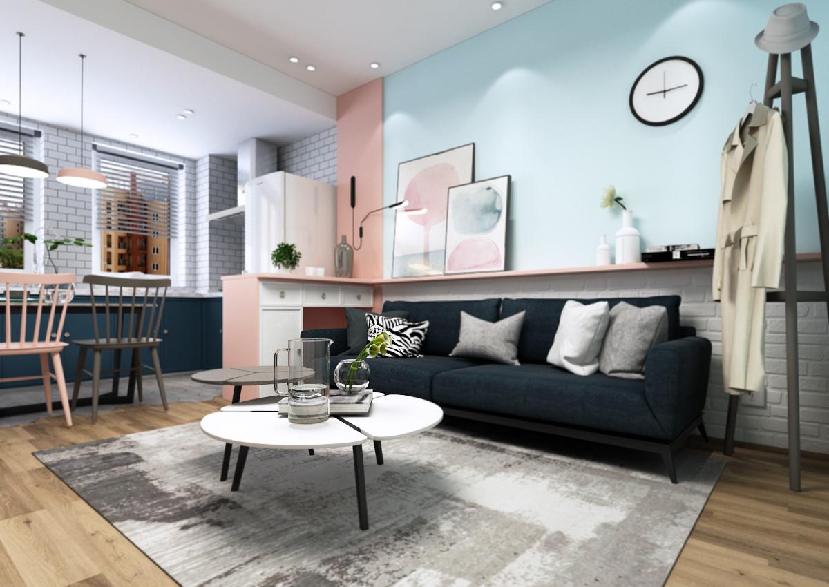 空间心|少女|室内设计|Lynx_山橙-原创作品-站平面设计配色cmyk值图片