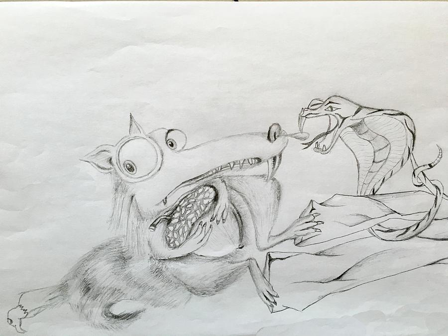 手绘作品2