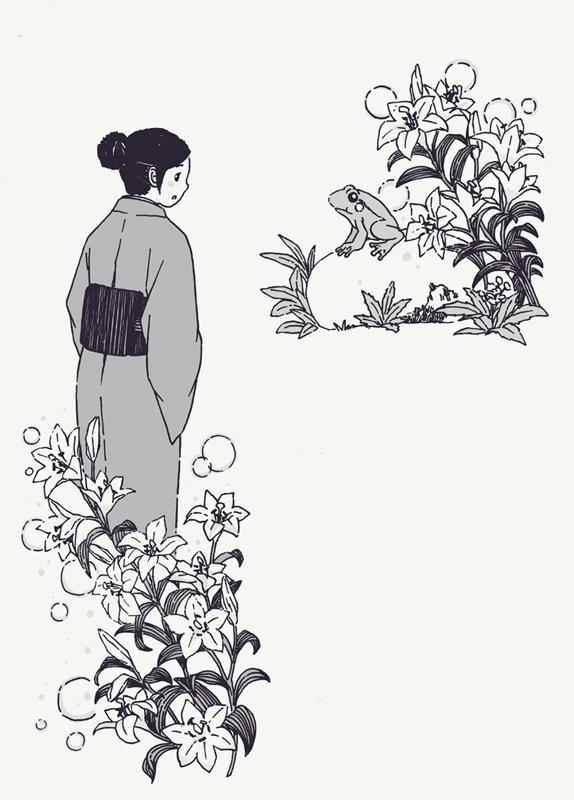 手绘作品:童话插图9p